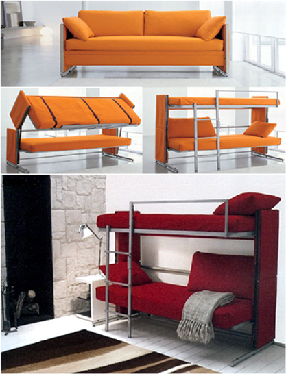 Love Functionality Bonbonconvertible Sofa Bunk Bed Is