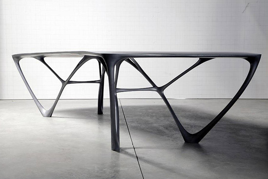 Modern dining tables that are impressive kmp furniture blog for Futuristic dining table