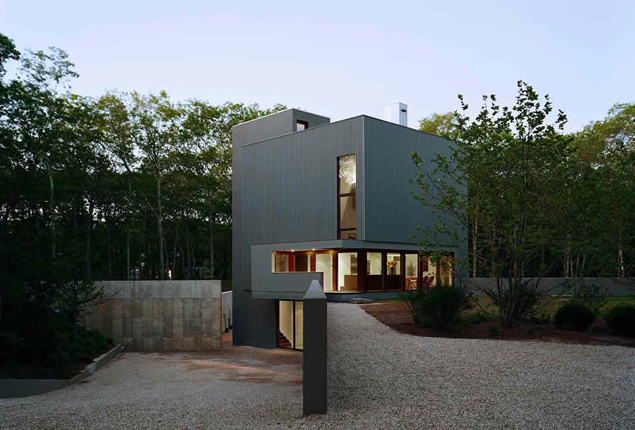 Green modern architecturea great modern house in New York NY