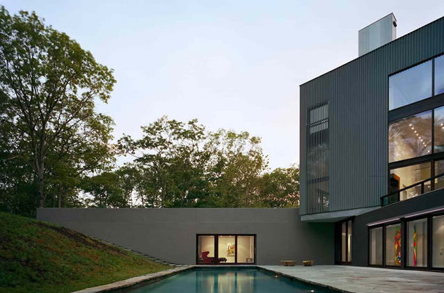 green modern architecture a great modern house in new york ny an