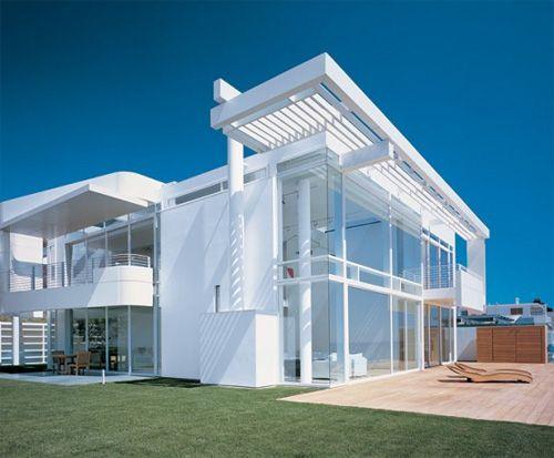 Richard Meier S Vision Of White Above Waters Kmp