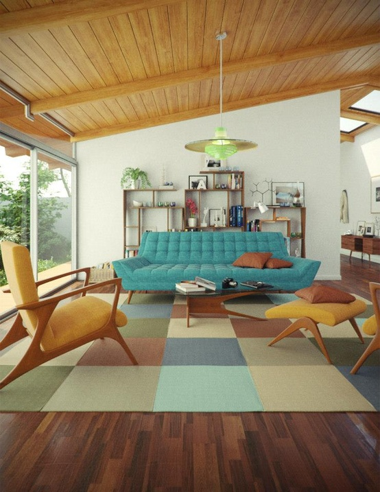 How about some mid-century awe this season...Color anyone? - KMP ...