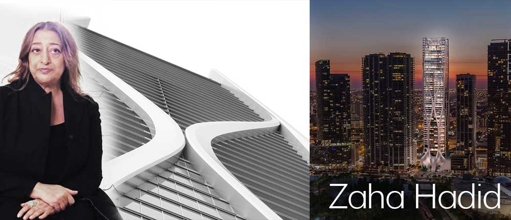 Miami Architects - Zaha Hadid