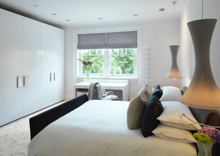 Louise Holt Hampstead guestroom