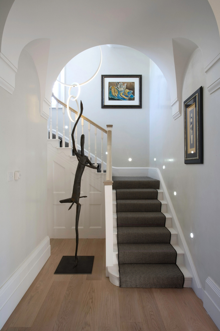 Louise Holt Hampstead staircase