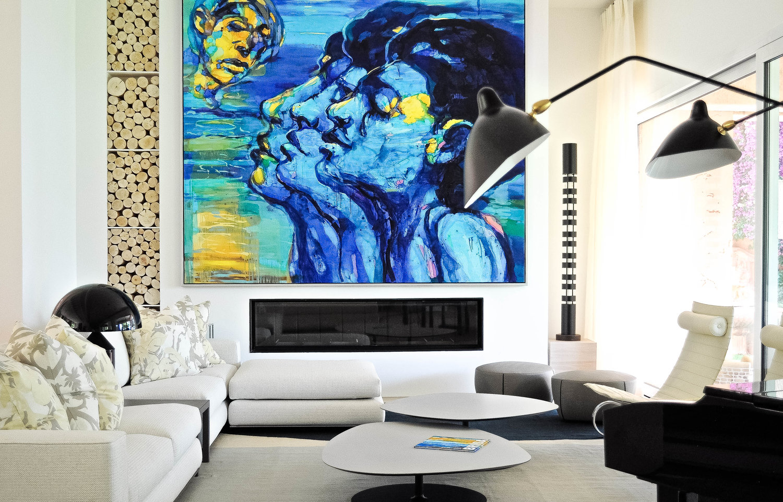 Louise Holt Mallorca living room