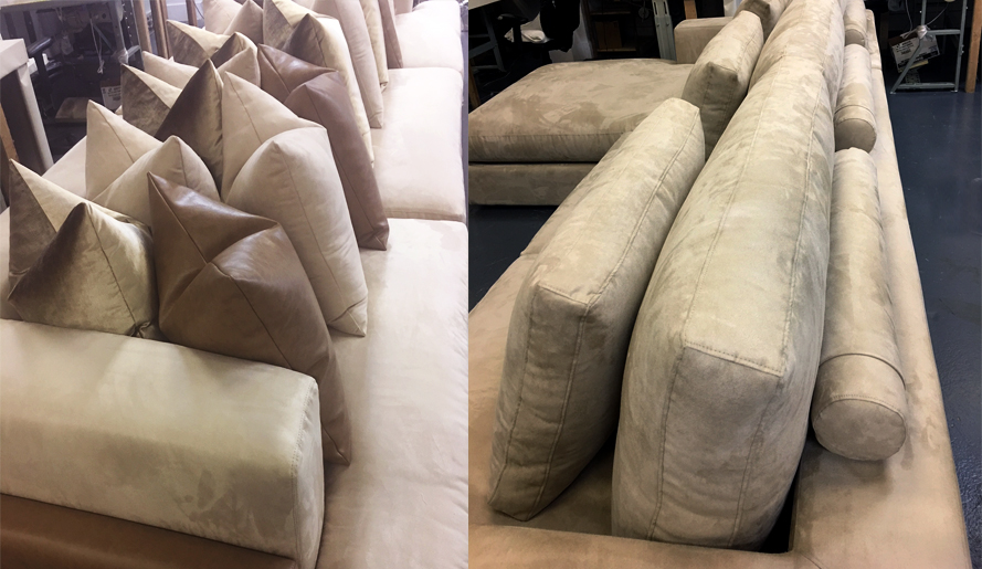comfortable cushions are the key