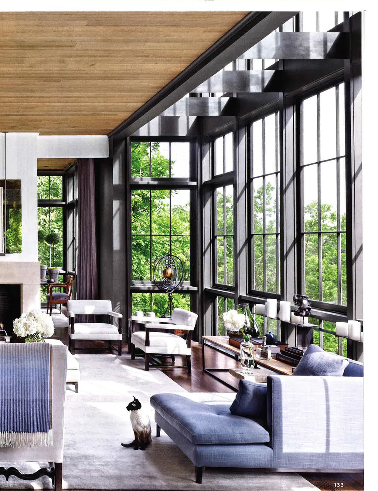 Ultra Violet interiors
