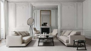 The classical beauty revived in modern décor